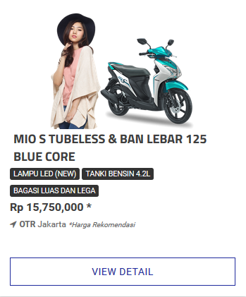 Kredit Motor Yamaha New Mio S Dp Murah Cicilan Ringan