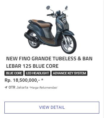 Kredit Motor Fino 125 Grande