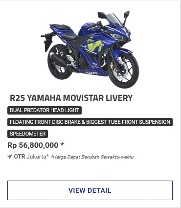Yamaha All New R25 Movistar