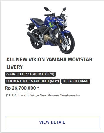 Kredit Motor Yamaha All New Vixion Movistar