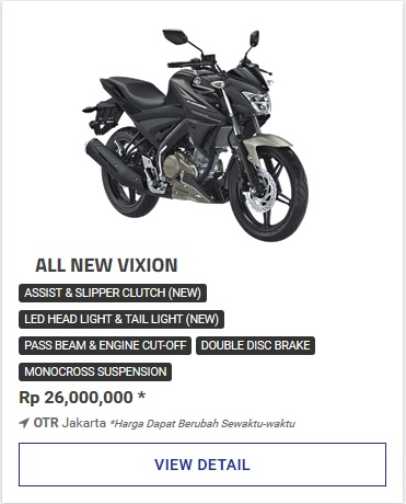 Yamaha All New Vixion