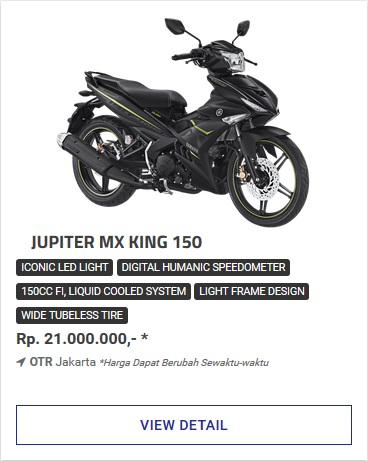 Kredit Motor Yamaha Mx King 150