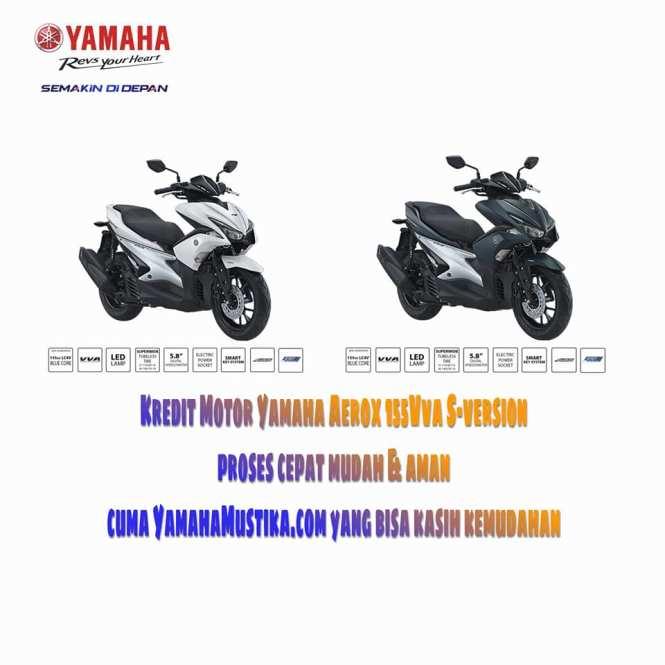 Promo Kredit Motor Yamaha Aerox 155vva S-version - Yamahamustika