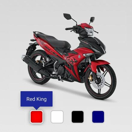 kredit motor yamaha Mx King 150 merah