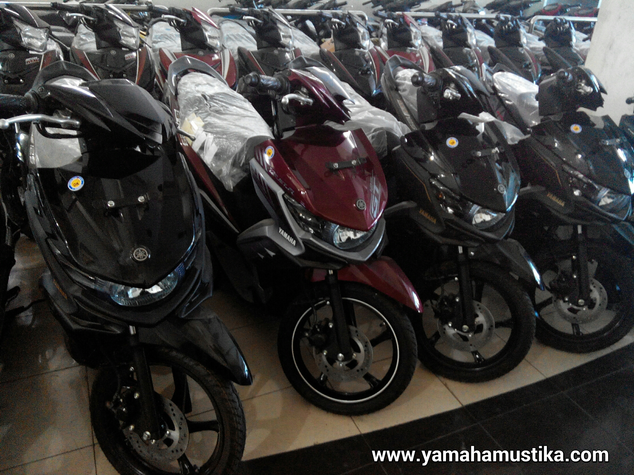 Yamaha Mio M3 menggunakan Pertalite, Semakin Tanpa Kompromi