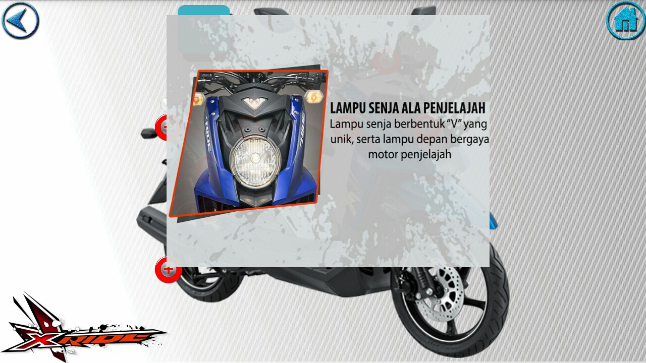 Yamaha X Ride Kredit Motor Yamaha