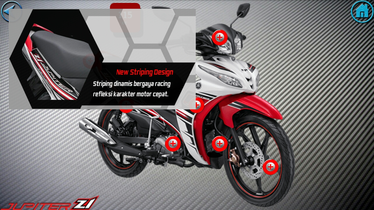 Yamaha Jupiter Z Cw Fi