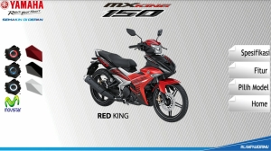 kredit yamaha mx king
