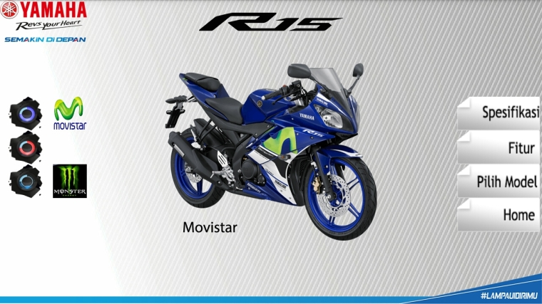 kredit yamaha R15 movistar