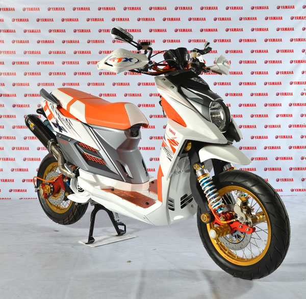 Modifikasi Yamaha Mio X Ride Modif Motor 2017