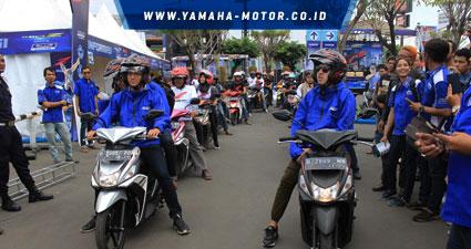 Brand-Ambassador-Mio-Z-ikut-turing-Mio-Z-di-Cirebon