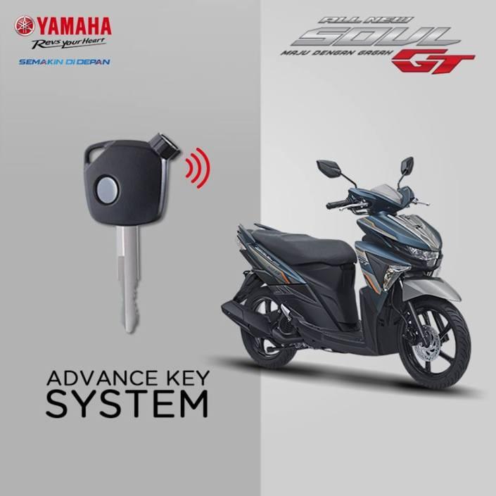 Yamaha Soul GT 125 Aks Sss