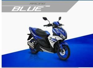 kredit-aerox-125-biru-yamaha-mustika