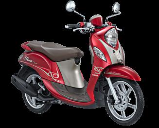 Yamaha Fino 125 Blue Core Premium Merah