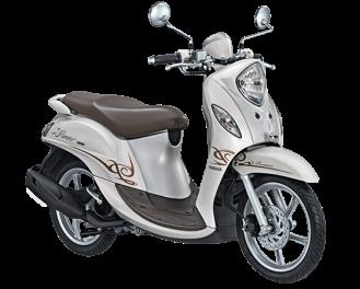 Yamaha Fino 125 Blue Core Premium Putih