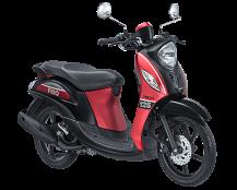 Yamaha Fino 125 Blue Core Sporty Merah