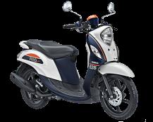 Yamaha Fino 125 Blue Core Sporty Putih
