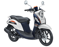 Yamaha Fino 125 Blue Core Sporty Putih
