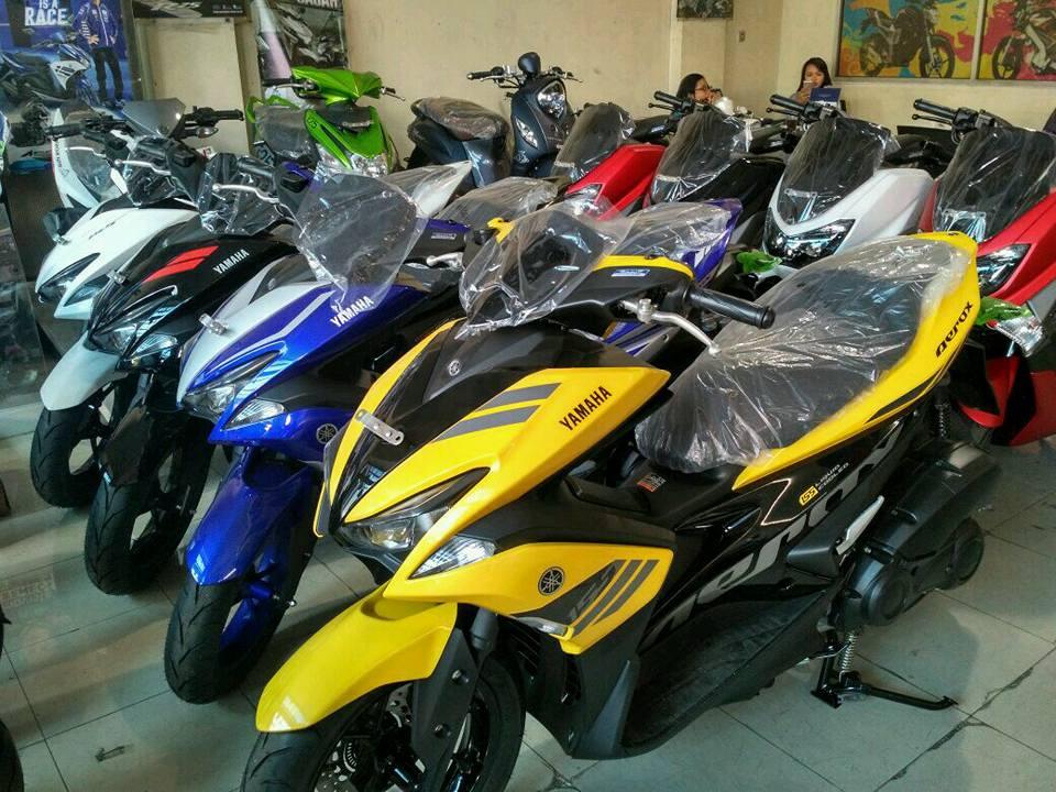 Akhirnya Yamaha Aerox 155cc Tiba Juga, Ajukan disini ...