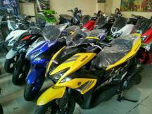 Kredit Motor Yamaha Aerox 155cc vva Dp Murah Cicilan Ringa