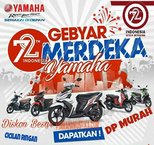 Gebyar Merdeka Kredit Motor Yamaha Dp Murah Cicilan Ringan