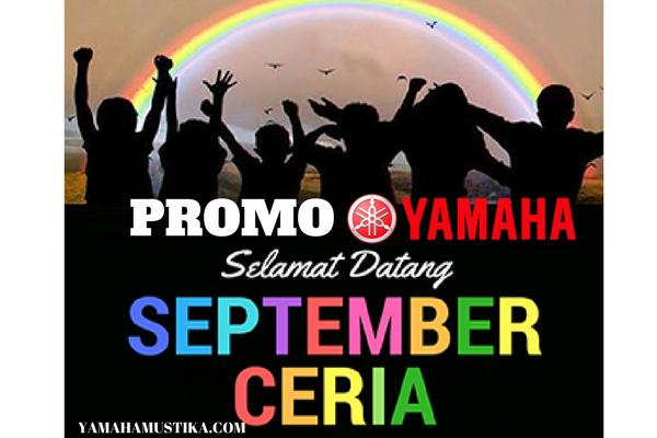 Promo September Ceria 2017 Kredit Motor Yamaha DP Murah Cicilan Ringan