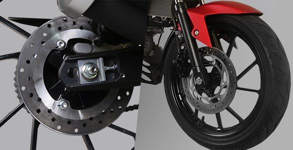 Double Disc Brake Yamaha All New Vixion R