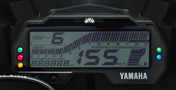 FULL DIGITAL SPEEDOMETER + SHIFT TIMING LIGHT Yamaha All New Vixion R