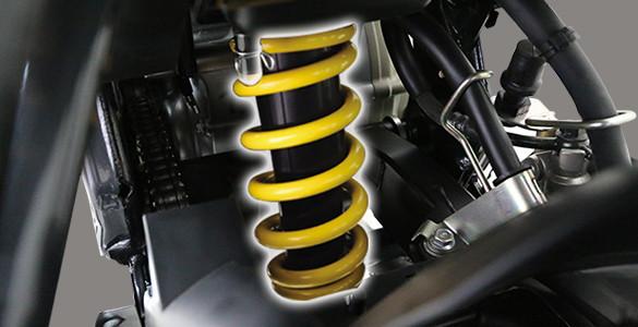 Monocross Suspension Yamaha All New Vixion R