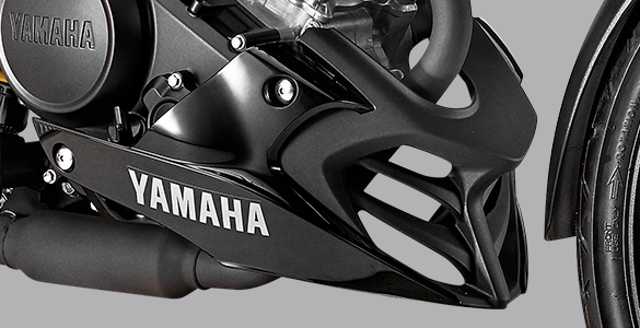 Sporty Under Cowl Yamaha All New Vixion R