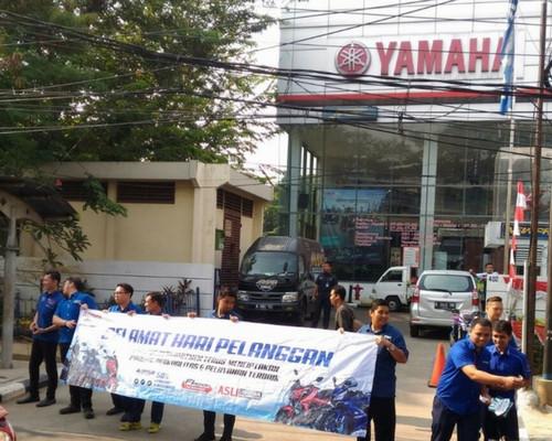 Hari Pelanggan Yamaha Terima Kasih Pelanggan Yamaha