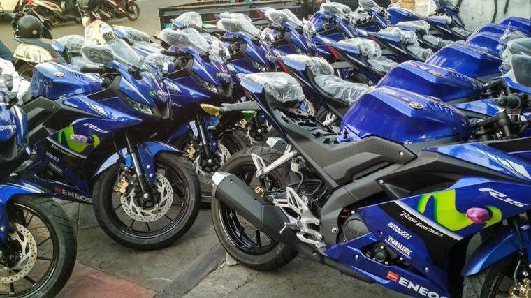 kredit motor yamaha all new r15 Movistar