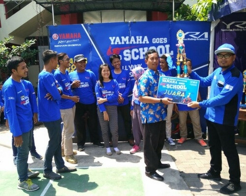 Yamaha Goes to School Safety Riding Competition