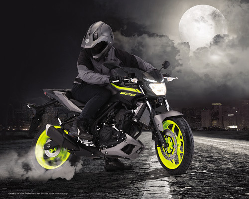 Yamaha MT25 Warna dan Grafis Baru 2017
