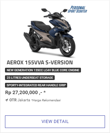 Kredit Motor Yamaha Aerox 155Vva S Version Termurah