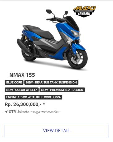 Yamaha Nmax 155 Non Abs