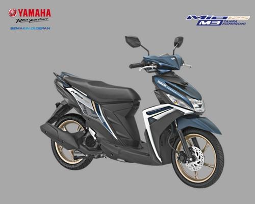 Yamaha Mio M3 125 Tampil Lebih Modern Dengan Warna dan Grafis baru