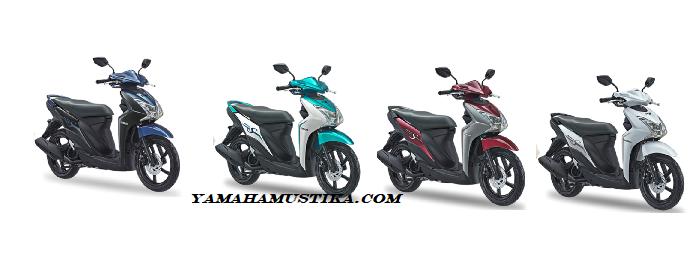 Warian Warna Yamaha New Mio S 125