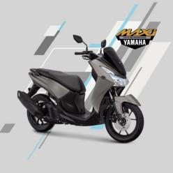 Yamaha Lexi 125 Abu-Abu