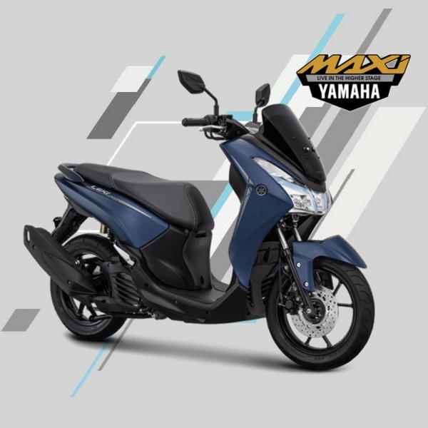 Yamaha Lexi s 125 Mate Blue